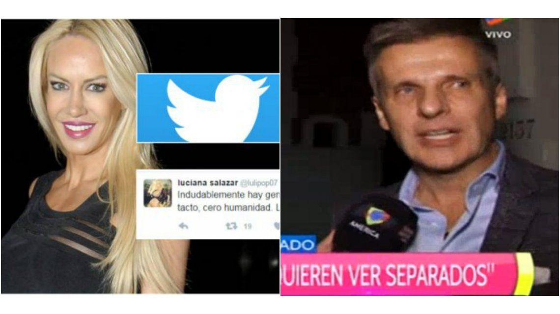 Tras los polémicos tuits, Martín Redrado habló sobre Luli Salazar: Hay mucha gente que nos quiere ver separados