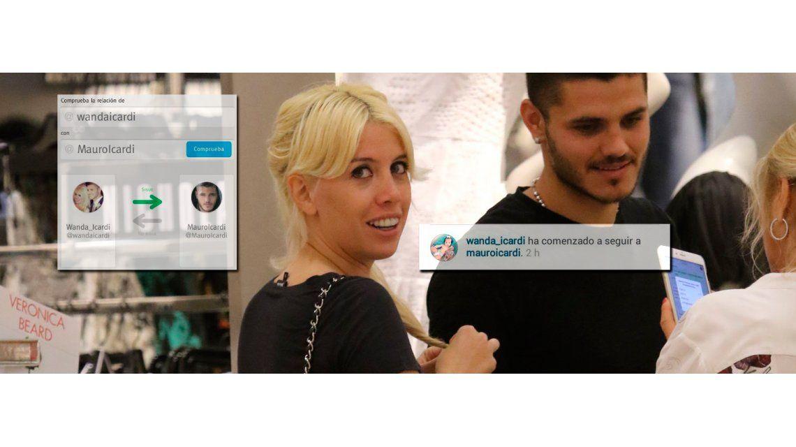 Wanda Nara y Mauro Icardi se dejaron de seguir en las redes: ella se arrepintió, ¿y él?