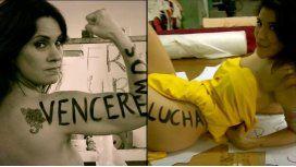 Nancy Dupláa y Andrea Rincón se desnudaron en La Leona
