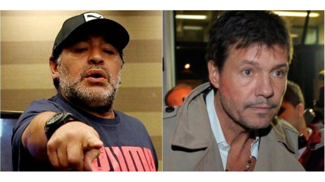 Maradona, a fondo contra Tinelli: Me quiere tocar el cul..., pero no llega, ¿sabes por qué?...