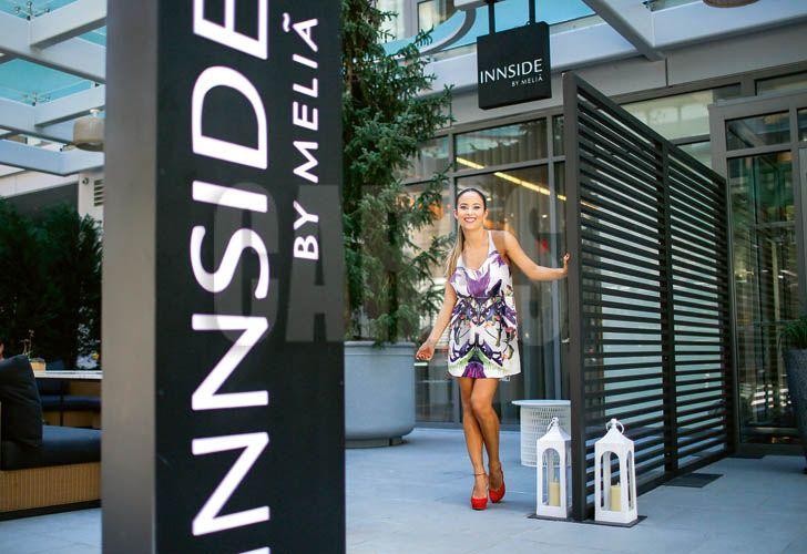 Lourdes Sánchez en Nueva York: Vine a comprarle toda la ropa a mi bebé