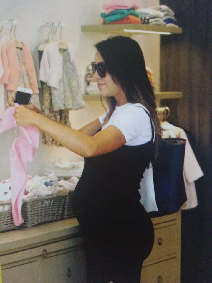 Floppy Tesouro, embarazada de 7 meses, reveló cómo fue su primera ecografía 4D