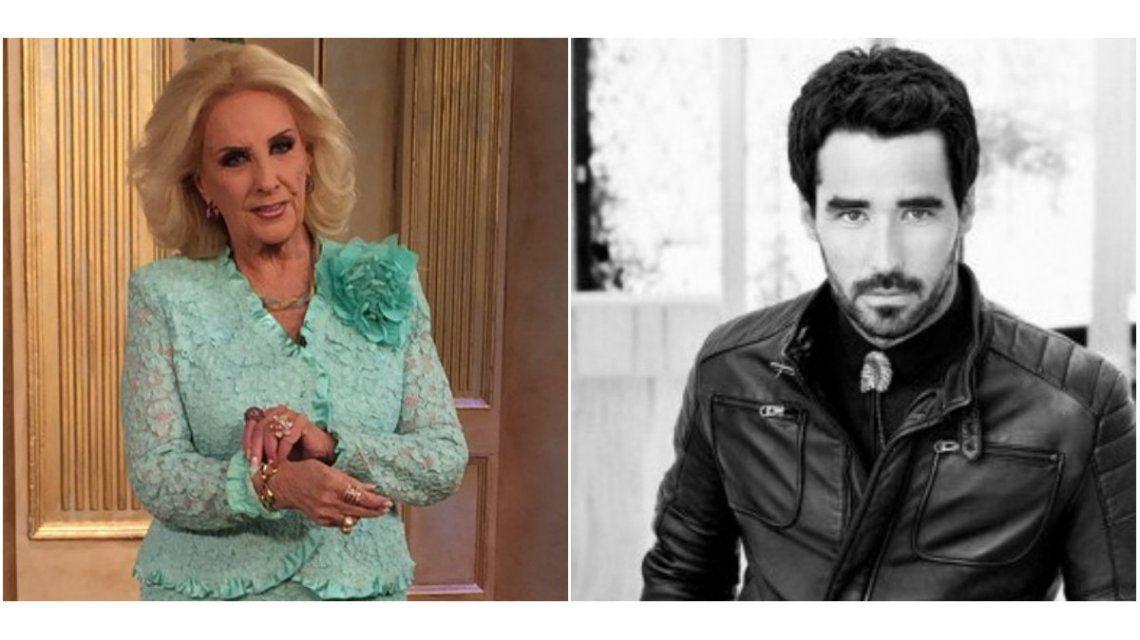 En un cruce telefónico, Mirtha le pasó factura a Nacho Viale: Por ahí tiene demasiadas novias