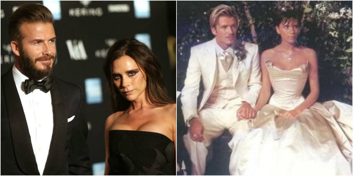 Tras los rumores de infidelidad, los Beckham festejaron su aniversario
