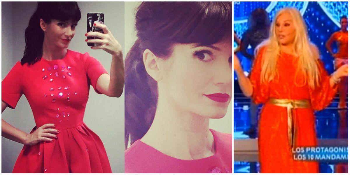 Después de la polémica por el color del vestido (parecido al de Susana), la aclaración de parte de Griselda Siciliani