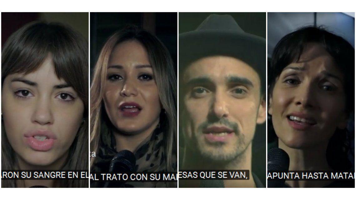 Karina La princesita, Abel Pintos, Natalia Oreiro y otros grandes artistas, juntos por las víctimas de la AMIA
