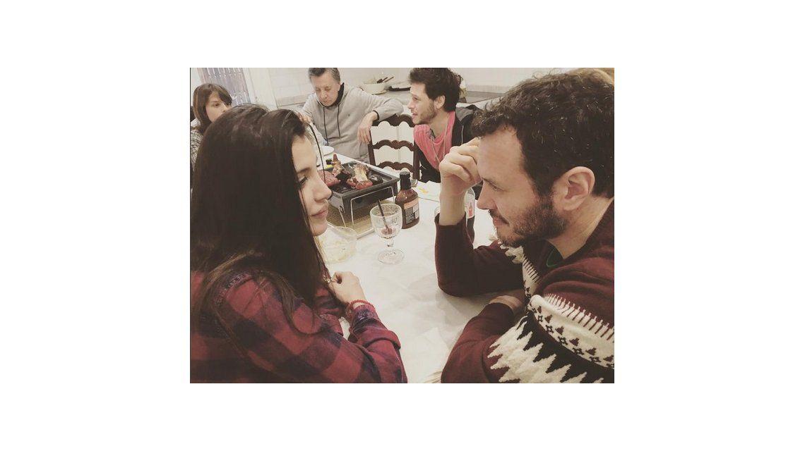 ¿Qué pasa entre Andrea Rincón y Martín Ortega? Románticos mensajes y fotos en las redes