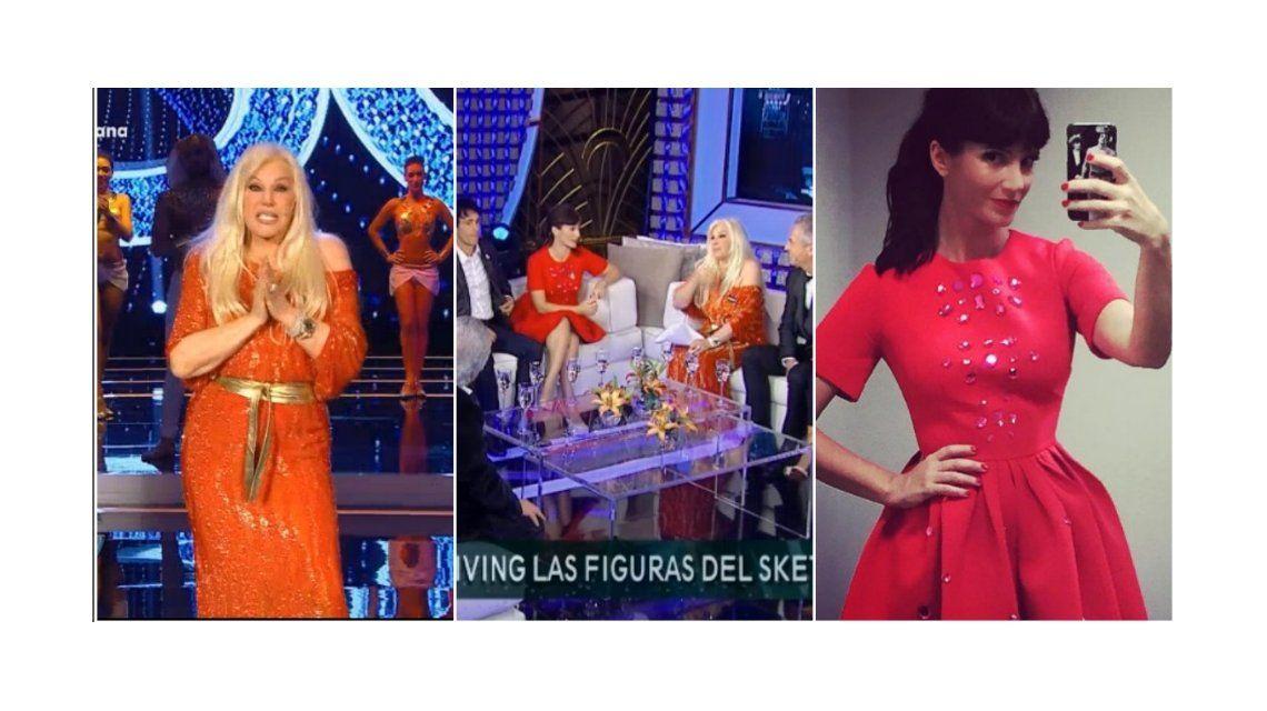 Críticas en Twitter por el look de Griselda Siciliani en el regreso de Susana Giménez: el mismo color que la conductora
