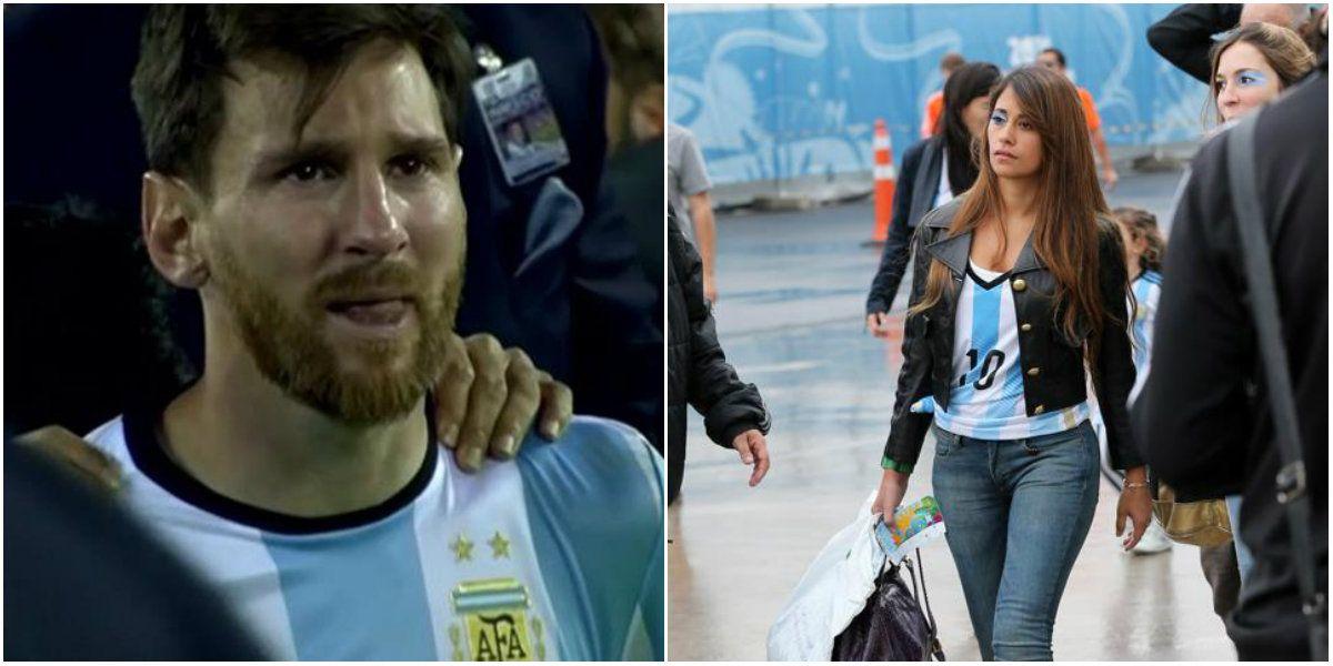 Antonella Roccuzzo: Son pocos los que critican a Lionel, pero pesan
