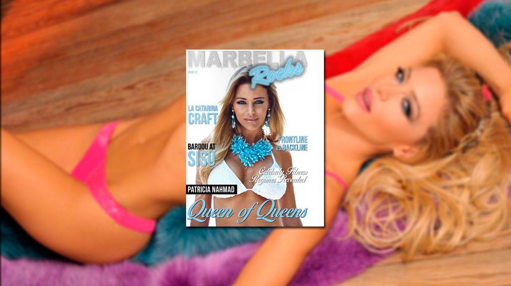Evangelina Anderson llegó a la tapa de una revista de Marbella con su lomazo