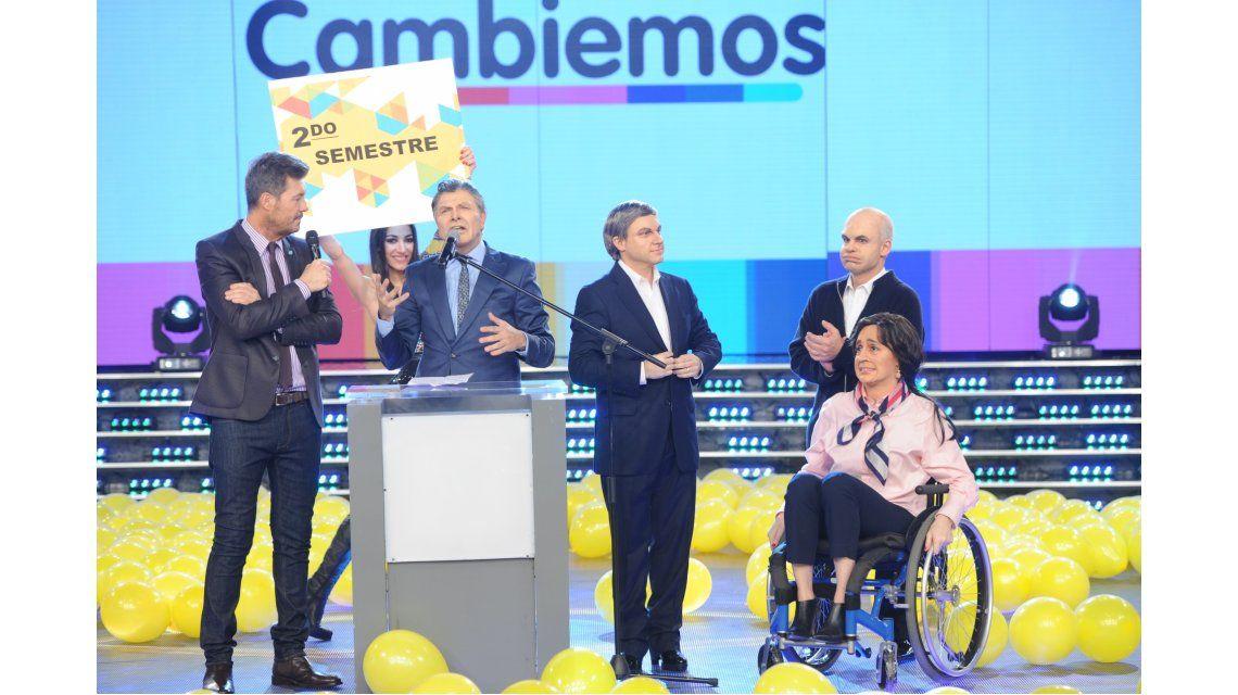 Mauricio y su gabinete anunciaron nuevas medidas por el nuevo semestre