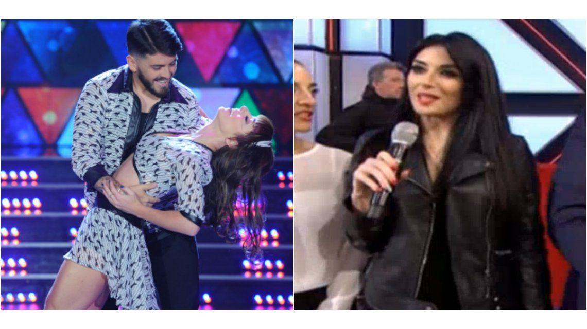Diego Maradona Jr. bailó la cumbia bajo la mirada de su mujer y contó que planean vivir en Argentina