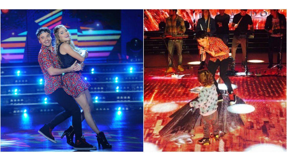Agustín Casanova brilló en la pista de Showmatch y Lolo Tinelli bailó al ritmo de Márama