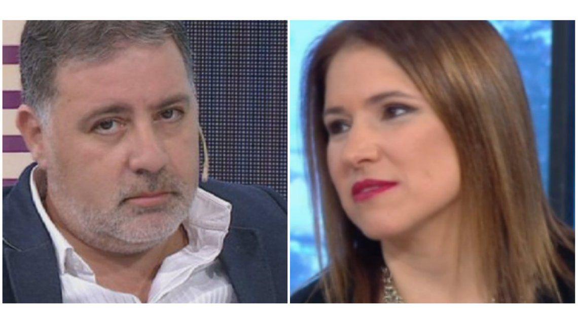 Fabián Doman, tras su pelea en vivo con Fernanda Iglesias: Es normal que para proteger al padre de sus hijos, descargue su enojo conmigo