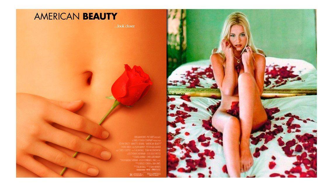 Chloe Hunter, la diosa que hizo el afiche de Belleza Americana