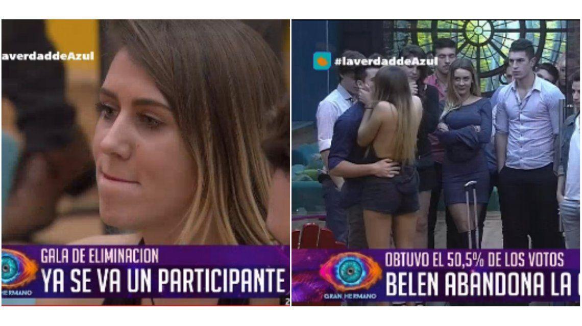 Belén es la nueva expulsada de Gran Hermano: obtuvo el 50,5 por ciento de los votos