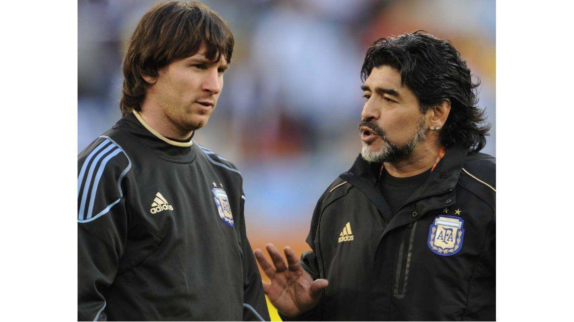 Maradona: Con su renuncia, Messi nos quiso decir déjense de romper los huevos
