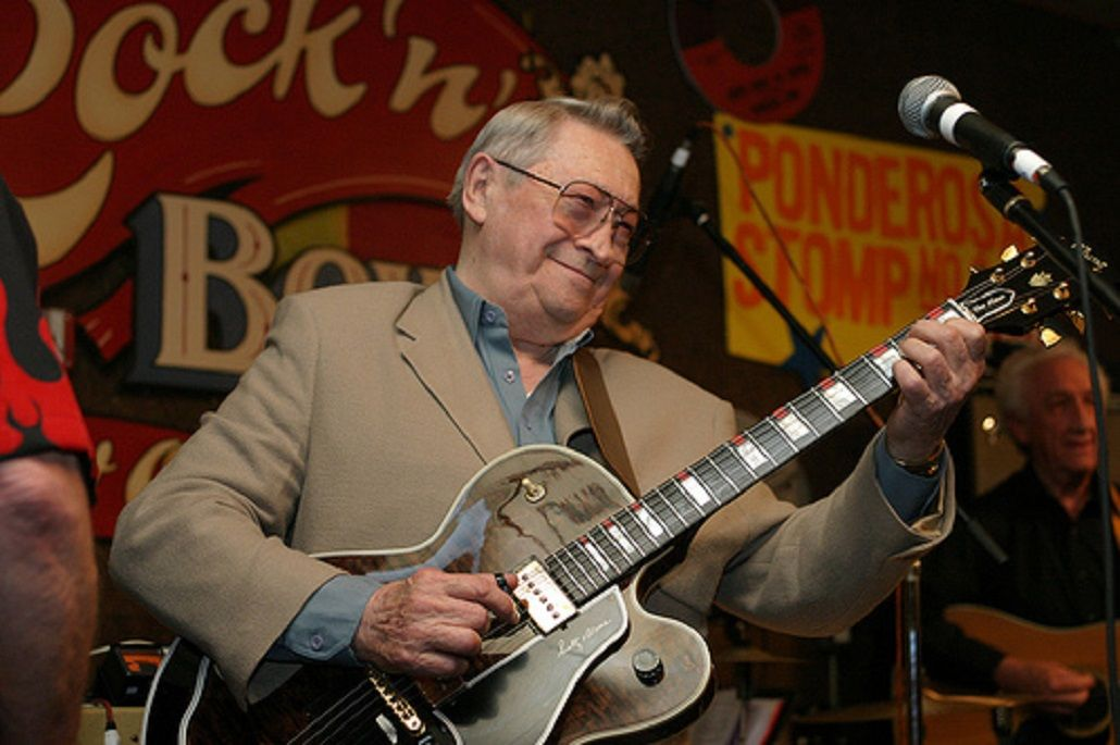Murió Scotty Moore, guitarrista de Elvis Presley
