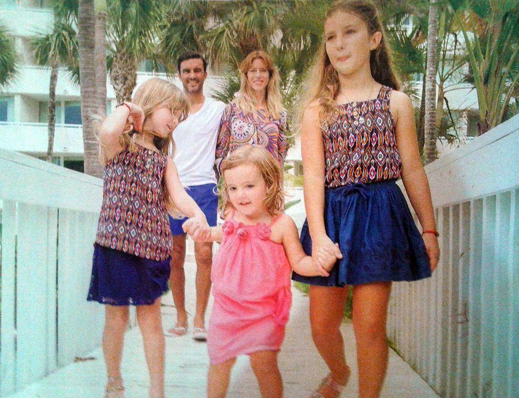 Las vacaciones de Nicole Neumann, Poroto Cubero y su familia en Bahamas