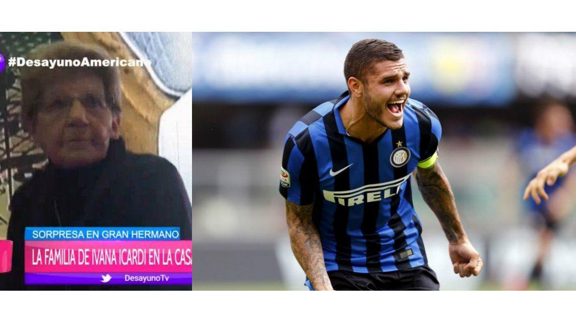 La abuela de Mauro Icardi reveló el escaso trato que el futbolista tiene con su familia