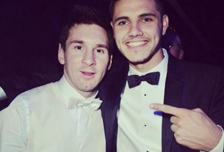 Tras la posible renuncia, Mauro Icardi le envió un mensaje a Messi