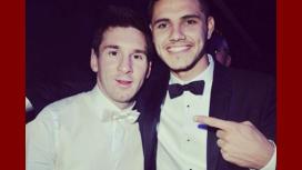 Tras la posible renuncia, el mensaje de Mauro Icardi a Lionel Messi