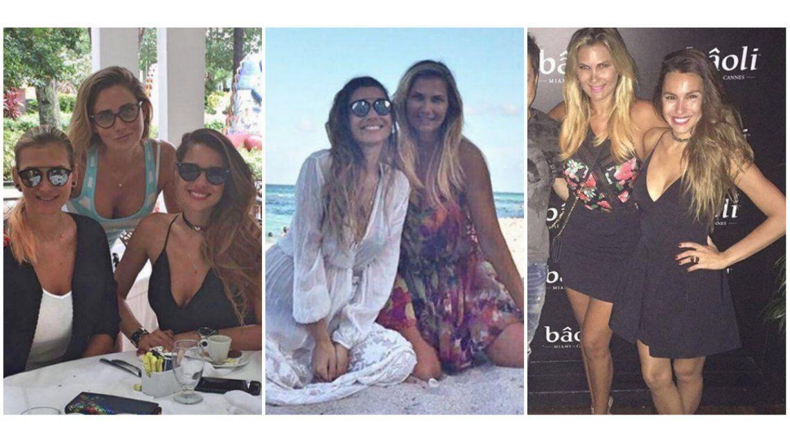 Las mini vacaciones de Pampita en fotos: playa, salidas nocturnas y shopping