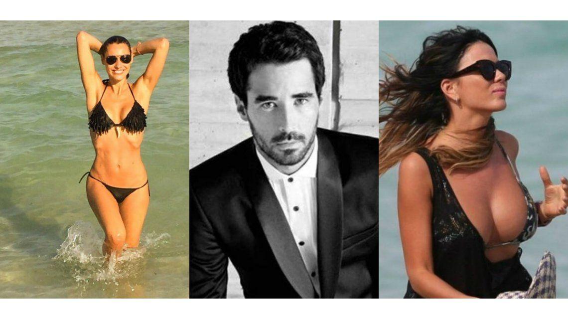 Galán insaciable: Nacho Viale coqueteó con Pampita y Karina Jelinek en Miami