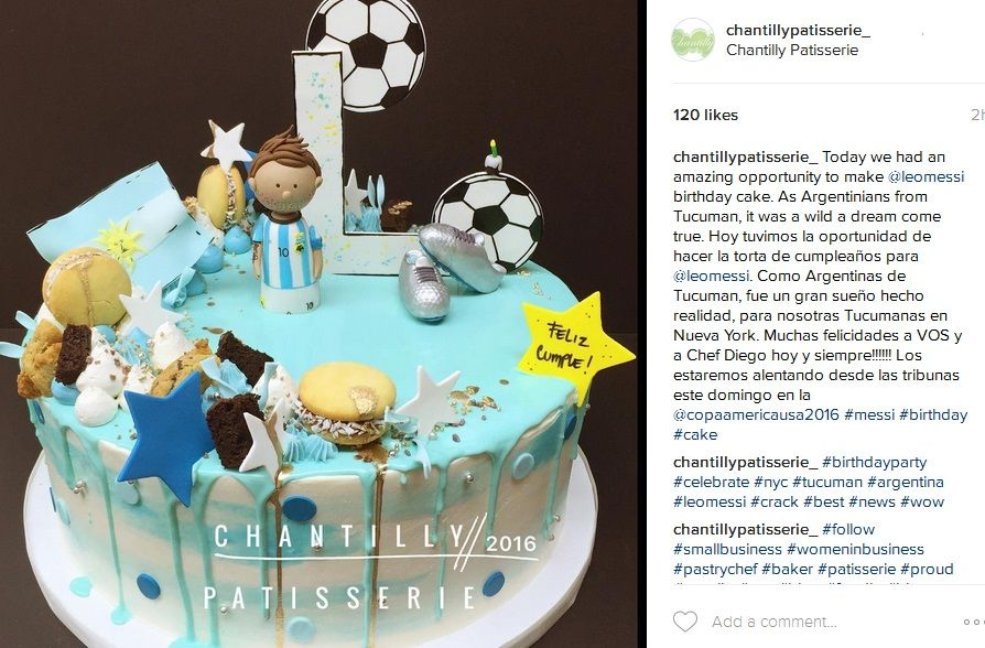 Las tucumanas que le hicieron la torta de cumpleaños a Lionel Messi en Nueva York