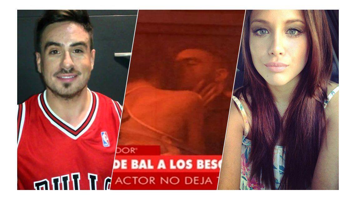 Fede Bal se cruzó con Barbie Vélez, antes de terminar a los besos con una modelo