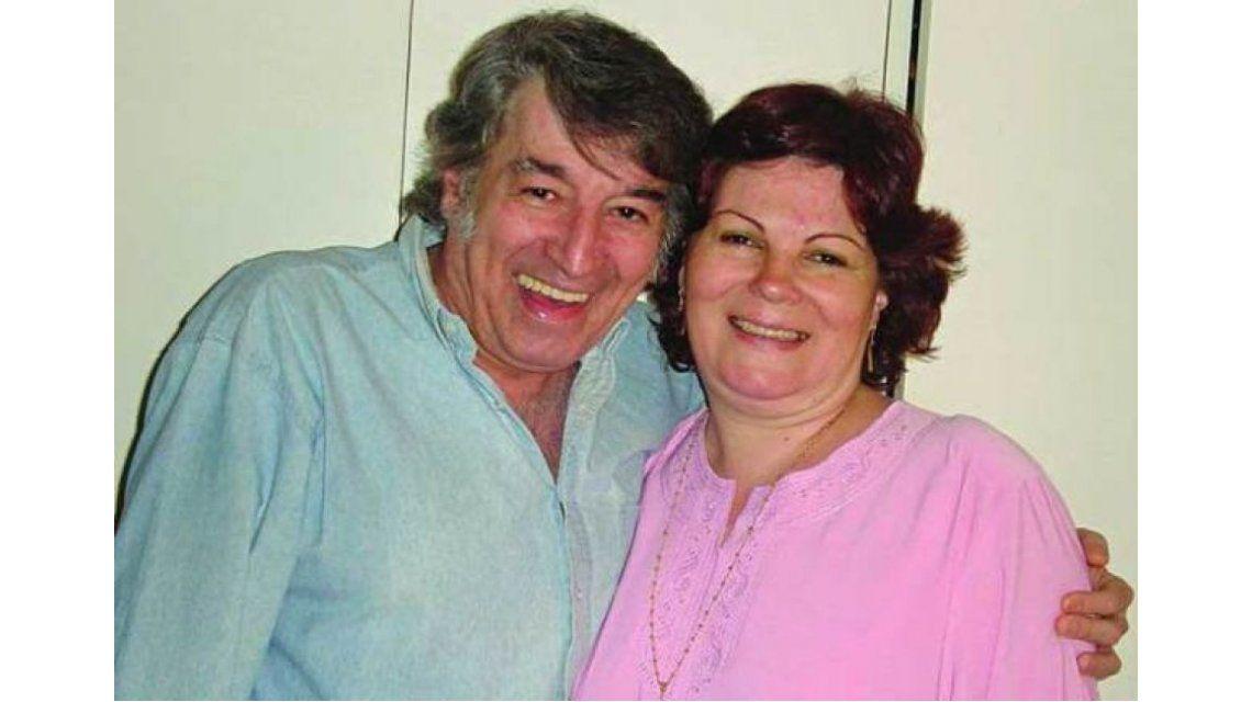 La viuda de Sandro, Olga Garaventa, se convirtió en abuela