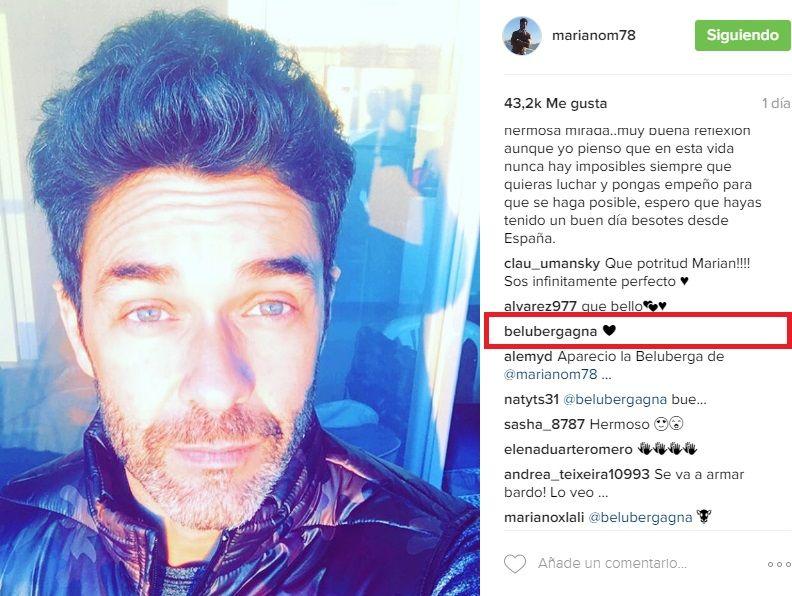 Mariano Martínez y Belén Bergagna: ¿romance confirmado con corazones en las redes?