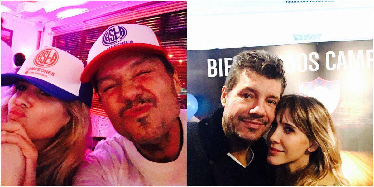 Marcelo Tinelli festejó el campeonato de San Lorenzo y viaja a EEUU para la final de la Copa América