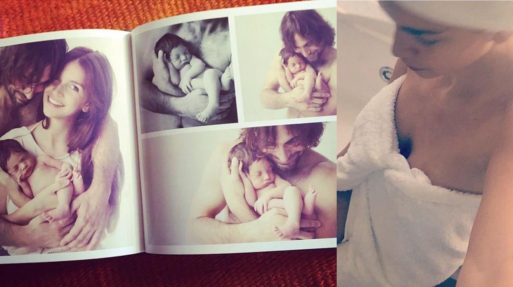 Zaira Nara, mamá full time pero coqueta: baño hot en sus tiempos libres