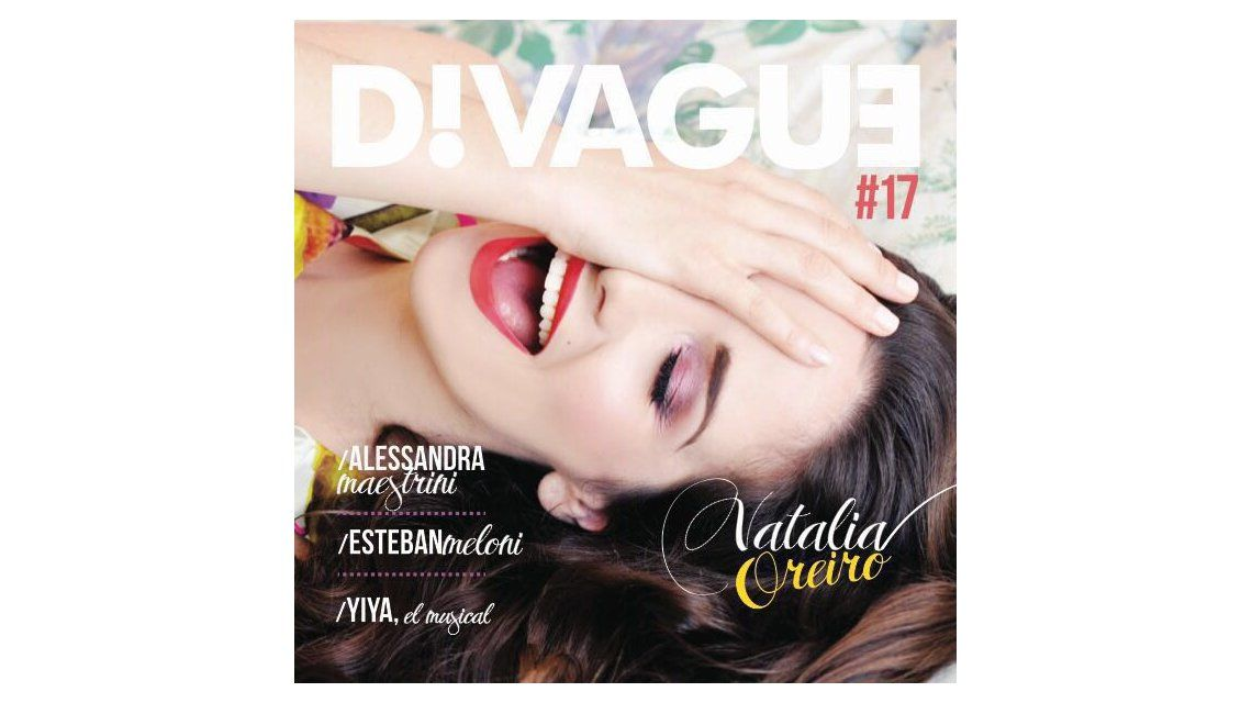 Natalia Oreiro estrena la película de Gilda y es tapa de revista