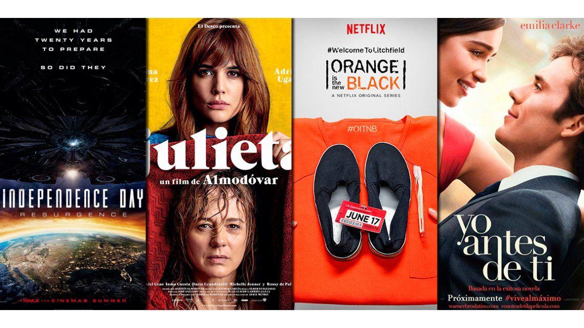 Los estrenos recomendados en cine y entrevistas exclusivas con las protagonistas de OITNB