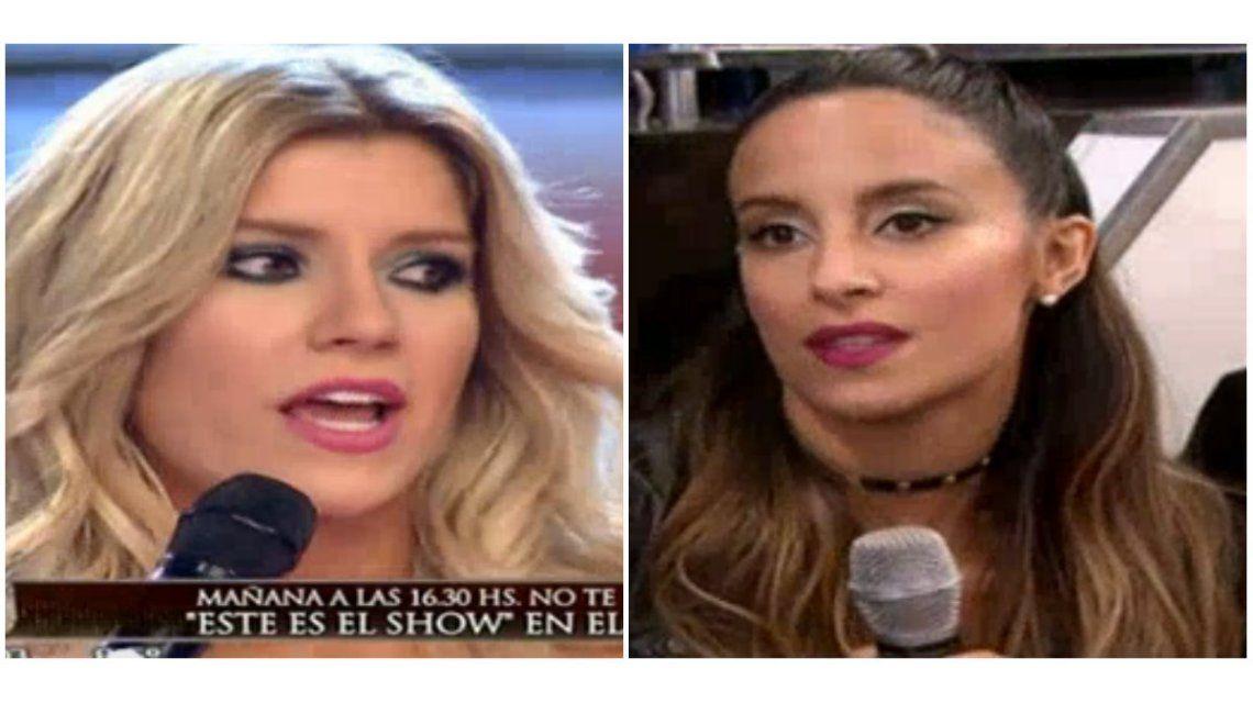 Lourdes Sánchez se cruzó con Laurita Fernández y fue de frente: Cuando no hay onda, no hay onda