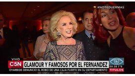 Mirtha Legrand y más famosos en la gala del Hospital Fernández