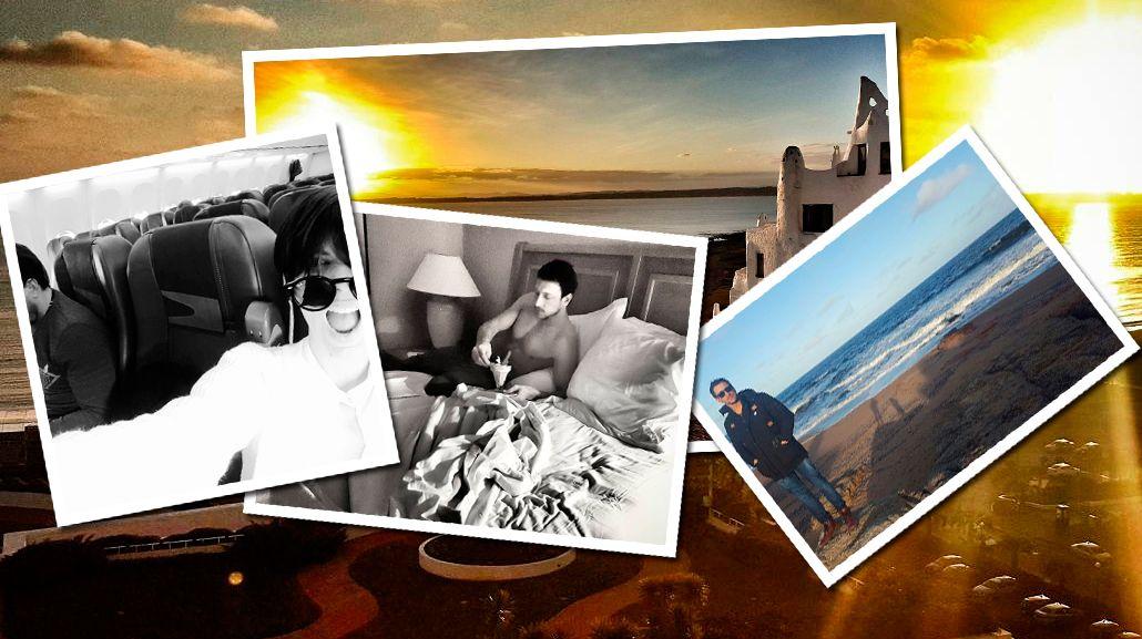 Las mini vacaciones de Gimena Accardi y Nicolás Vázquez: antojos y románticos atardeceres