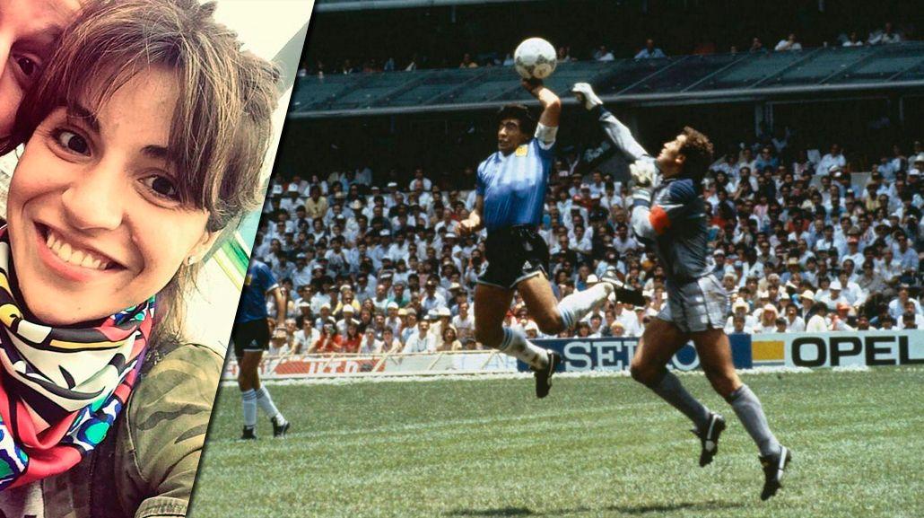 Gianinna Maradona recordó con emoción la Mano de Dios y el mejor gol de Diego ante los ingleses