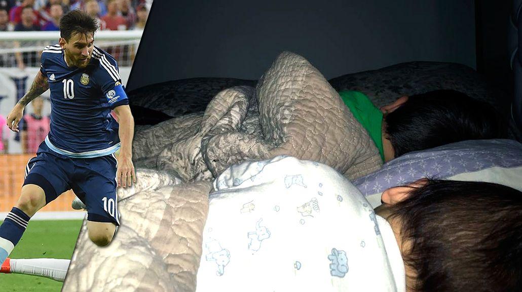 La emoción de Antonella Roccuzzo y sus hijos por el récord de Lionel Messi en la Selección argentina: Sos grande, amor