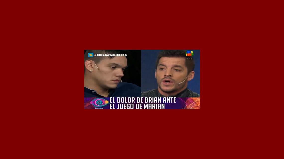Francisco Delgado, directo con Brian tras ver un video de Marian en Gran Hermano: ¡No te quiere y te hace quedar como un forr...!