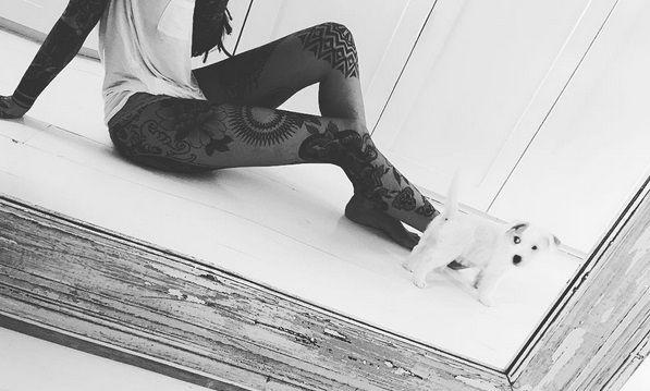Candelaria Tinelli muestra sus tatuajes en topless: Mi cuerpo, mi arte