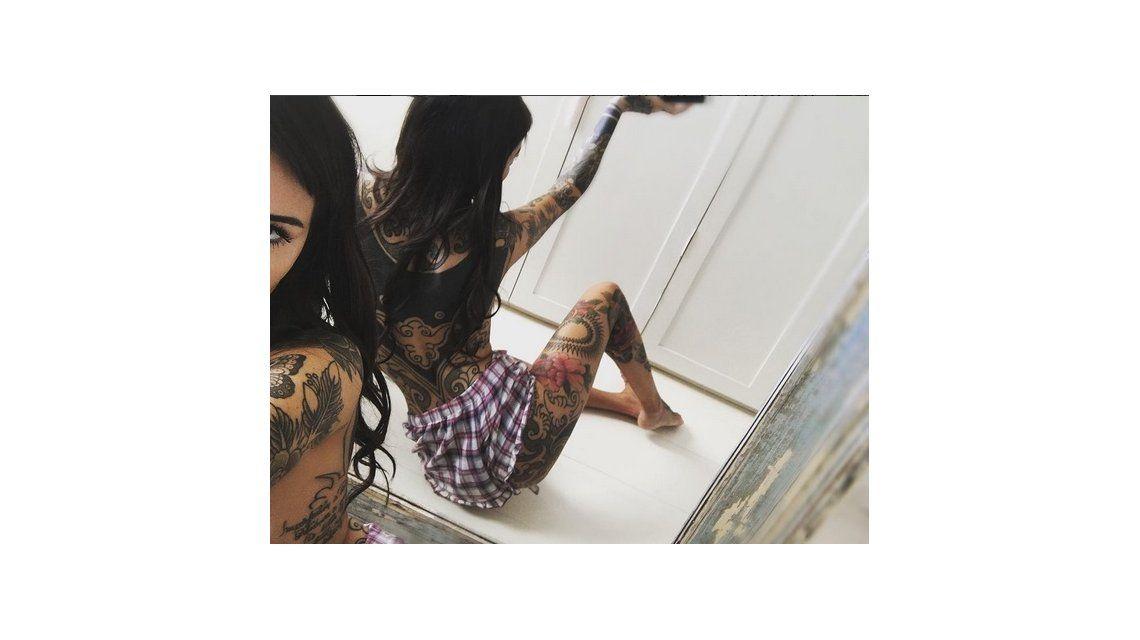 Cande Tinelli, furiosa por las críticas de su nuevo tatuaje: ¿No entendieron que pienso cubrirme todo el cuerpo?