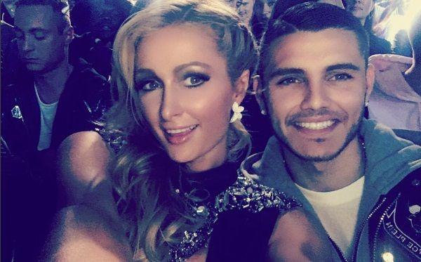 ¡Pollerudo! Mauro Icardi había subido fotos con Paris Hilton pero las borró