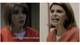 Soraya, de María la del Barrio, apareció en la serie OITNB: ¡Marginales!