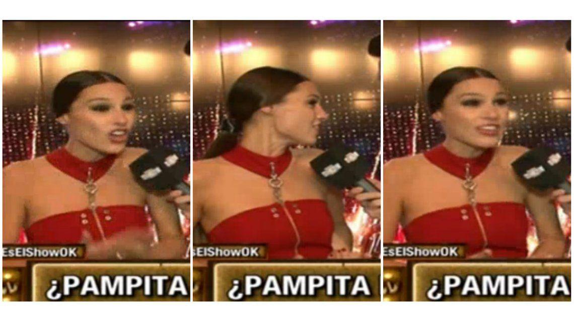 La furia de Pampita con Este es el show: ¿Qué les pasa? Traten de autoanalizarse ustedes