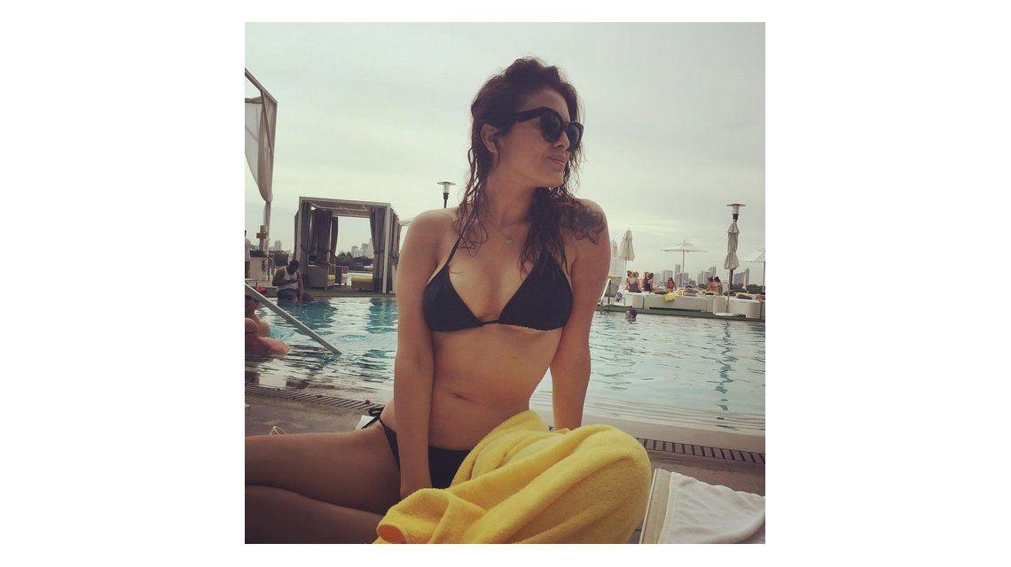 Durante su estadía en Miami