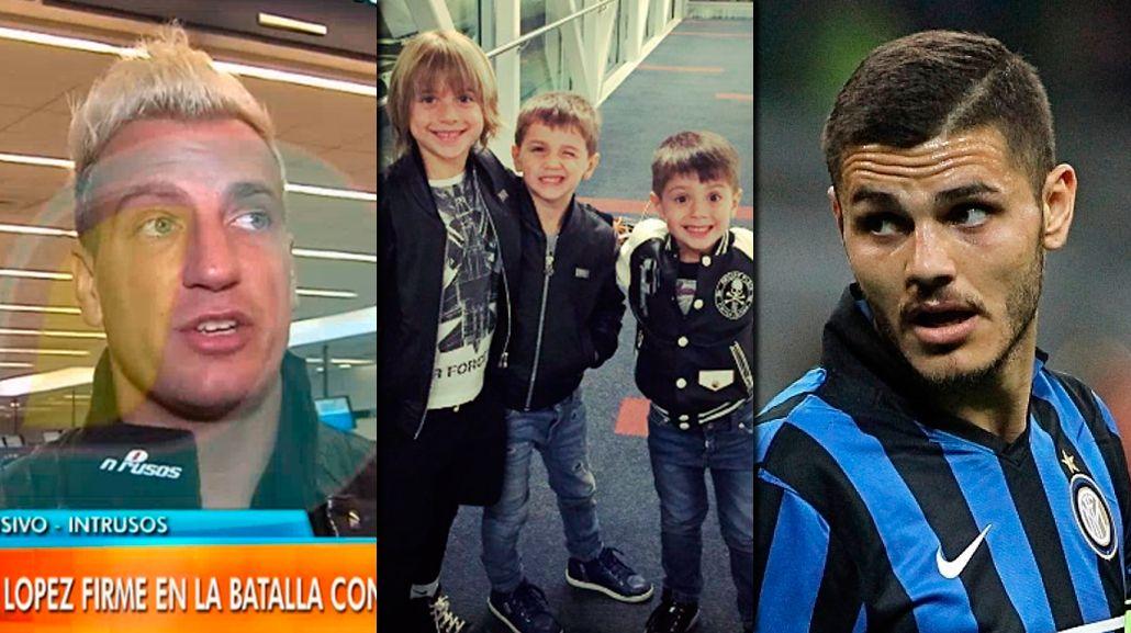 Maxi López va por la tenencia de sus hijos y apura a Mauro Icardi: Me gustaría tener una charla