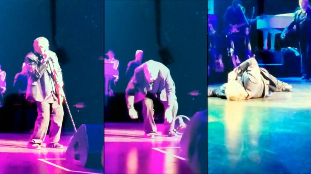Video: Meat Loaf se desplomó sobre el escenario en pleno show
